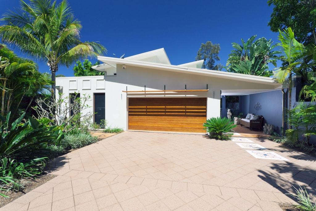 Stylish house front